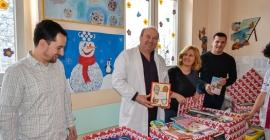 Knjige za mališane u Opštoj bolnici Požarevac