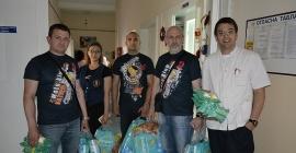 """Donacija moto kluba """"Vatreni"""" Opštoj bolnici Požarevac"""